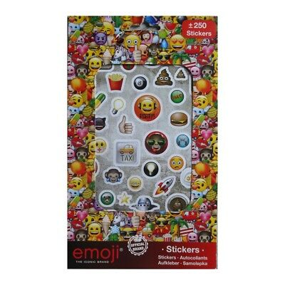 250 stickers Emoji autocollant Smiley