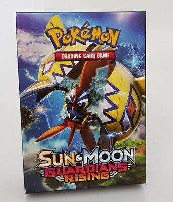 Pokemon TCG Deck Box Guardians Rising Stores 60 Card Full Deck