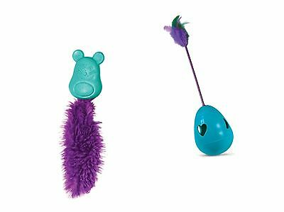 Kong Infused Cat/Kitten Catnip Toys - Bell/Ball/Feather