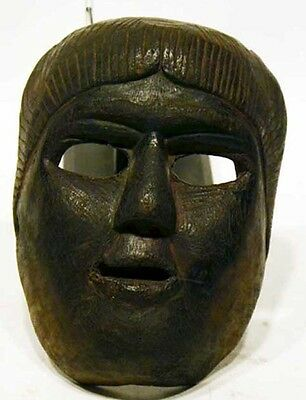 Antique Dance Mask Hard Wood -African-Mayan on sale $99