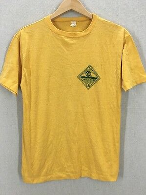 Vintage 1970's BSA Boy Scouts National Order Of The Arrow Conference Tshirt Sz M