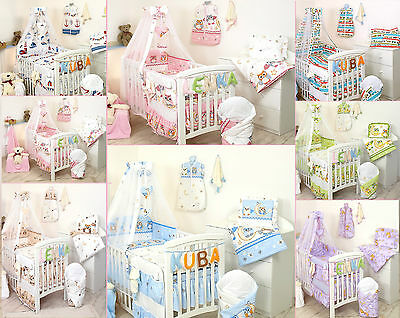 GREY ARROWS BABY BEDDING SET COT COT BED 3,5,9 Pieces COVER BUMPER CANOPY+more