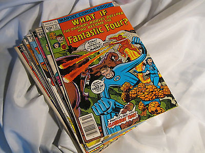 Marvel What If Lot of 8 Comics Vol 1 #11 - 36 1978 - 1982 Bronze Age Very Nice