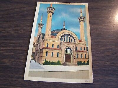 Irem Temple - Wilkes-Barre Pa  Post Card