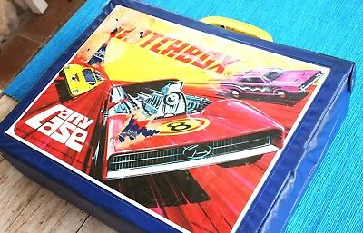 Suitcase MATCHBOX (MALETA) for Model Cars. 70s´ collectors! Absolutely Vintage!