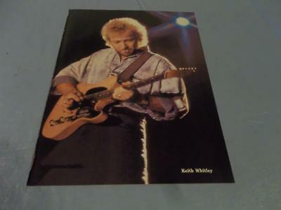 Keith Whitley pinup clipping  #11