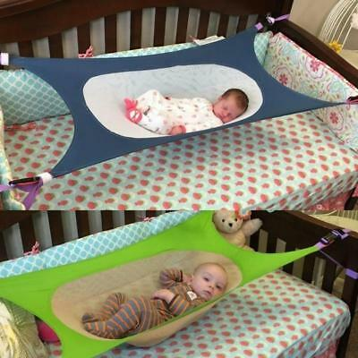Baby Crib Hammock Detachable Elastic Newborn Bed Development Healthy Safe Infant