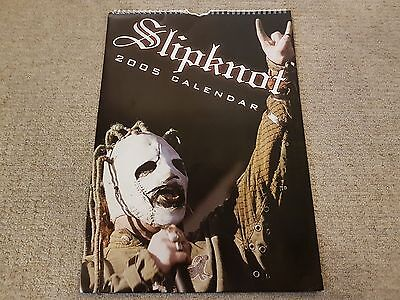 SLIPKNOT 2005 CALENDAR Iowa Subliminal Verses All Hope Is Gone The Gray Chapter
