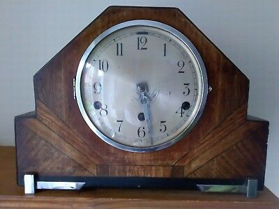 Large Westminster Chiming Mantel Clock for Spares or Repair