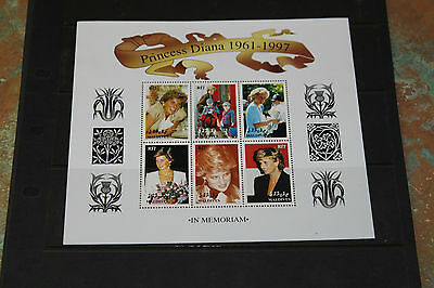 Maldives 1997 Princess Diana Memorial Sheetlet No.3  Very Fine M/n/h