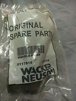 Genuine Wacker 0117815 Wacker HANDLE-PUMP *Free Shipping**