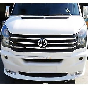 2012up VW CRAFTER Chrome Front Grill 6pcs S.STEEL