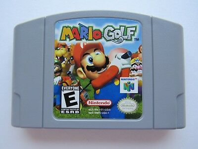 Mario Golf Nintendo 64 N64 Authentic OEM Video Game Cart Rare Original Kids GOOD