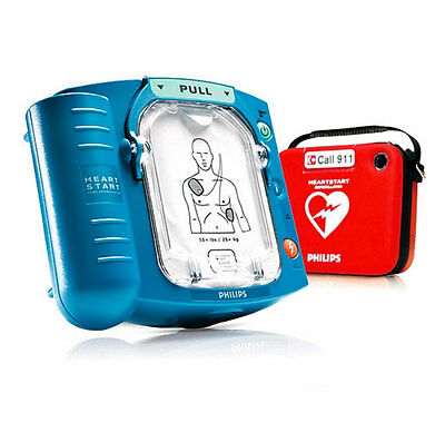 New Philips Heartstart AED Onsite HS1 Defibrillator M5066A with 2019 Pads