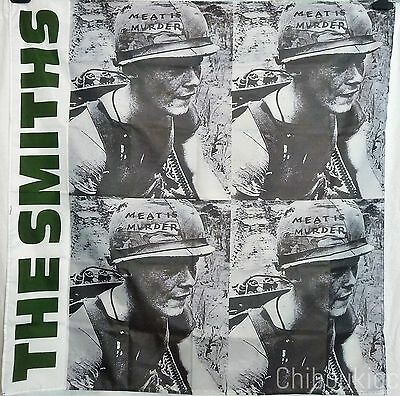 THE SMITHS Meat is Murder HUGE 4X4 BANNER poster tapestry cd album
