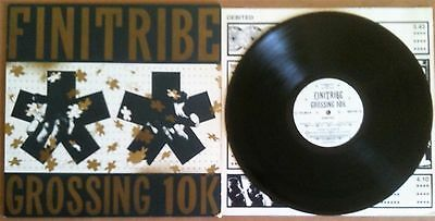 Finitribe ‎– Grossing 10K One Little Indian TPLP 24 UK 1990 LP WITH INNER SLEEVE