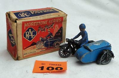 #100 Morestone RAC Motor-cycle patrol in box