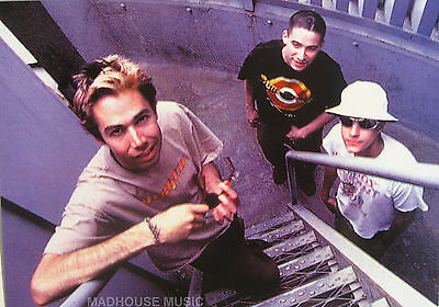 BEASTIE BOYS Postcard UK Official 90'S 'STAIR' Pic PYRAMID Posters Licensed MINT