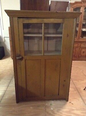 Antique Primitive Pie Safe With Original Paint Great Piece