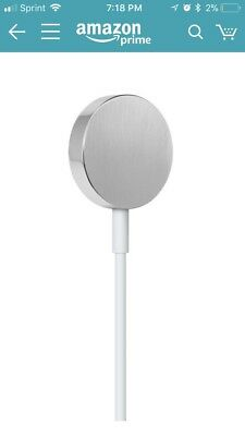 Apple Watch 1M Magnetic Charging Cable, White