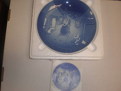 1979 Bing & Grondahl Fulepatte Christmas Plate Hand Painted Porcelain