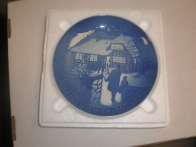 1973 Bing & Grondahl Fulepatte Christmas Plate Hand Painted Porcelain