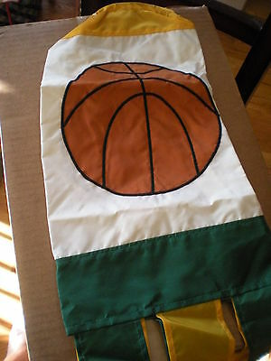 New Green And Yellow Basketball Windsock