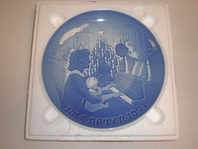 1971 Bing & Grondahl Fulepatte Christmas Plate Hand Painted Porcelain