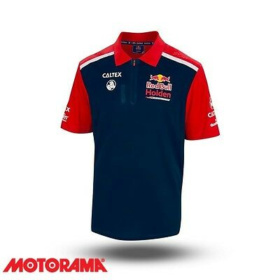 Official Red Bull Holden Racing Team Merchandise Team Polo LARGE RBHRT17.1082