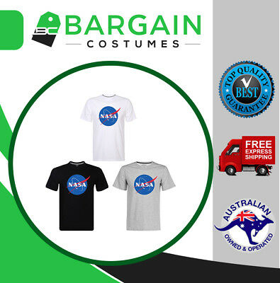 NASA Space Symbol Astronaut Logo Mens T Shirt Halloween Unisex T-Shirt Tee