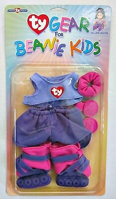 Ty Gear For Beanie Kids In-Line Skater Plush Fashions Clothing Beanie Babies