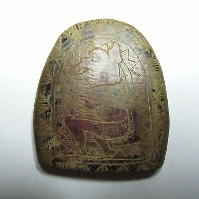Pre-Columbian Stone Carved Mayan Idol Artifact _From Estate Sale!