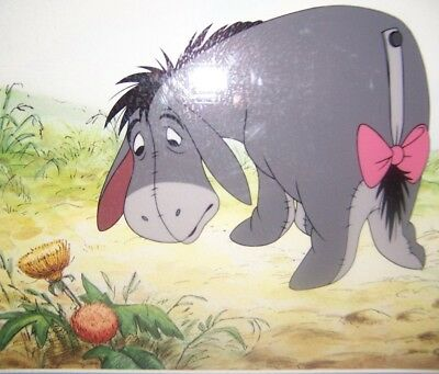 """Eeyore Lament""  Winnie the Pooh, Animation Art, DISNEY CERTIFICATE AUTHENTICITY"