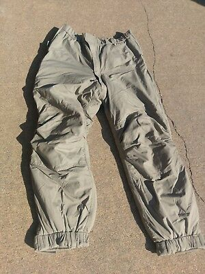 Primaloft Extreme Cold Weather Insulated Pants ECWCS Gen III Level 7 Large Long