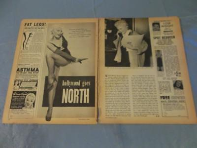 Sheree North vintage   clipping  #24