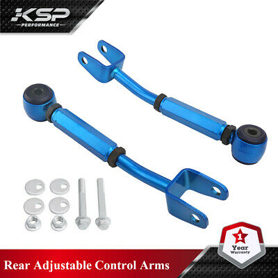 Rear Control Arm Camber Toe Kit Adjustable Racing Fits 370Z Altima G35 37 Coupe