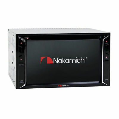 "NAKAMICHI NA1610S INDASH 6.2"" Touchscreen Built-in GPS Bluetooth/DVD/CD/AUX/USB"