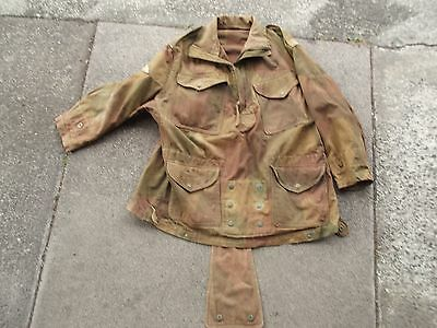 WWII British Paratroopers Denison Smock Genuine Veterens 1945 Dated