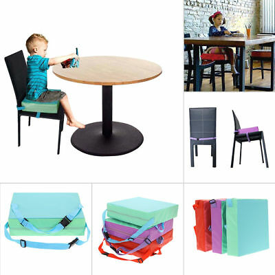33*33*8cm Child Dining Chair Highchair Soft Cushion Pad Seat Booster Portable