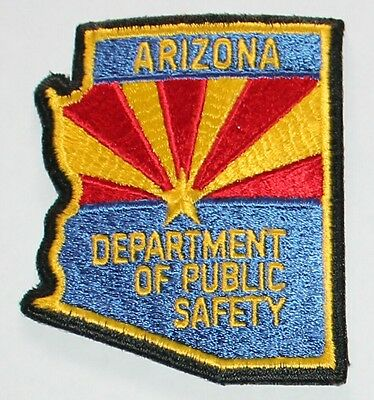 ARIZONA DEPT OF PUBLIC SAFETY AZ DPS Highway Patrol State Shaped Troopers Police
