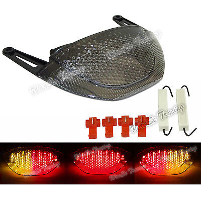 Led Integrated Tail Light In-tail Above Exhaust Fit 2007-2012 HONDA CBR600RR F5