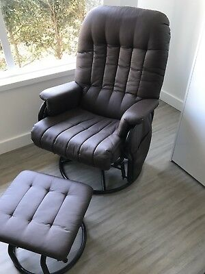 Valco Glider Rocking Chair & Ottoman