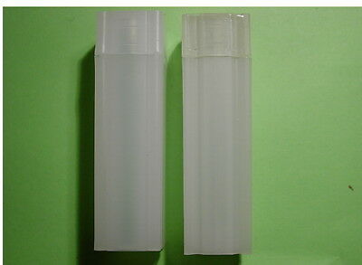10  Coin Safe Square Penny Tubes