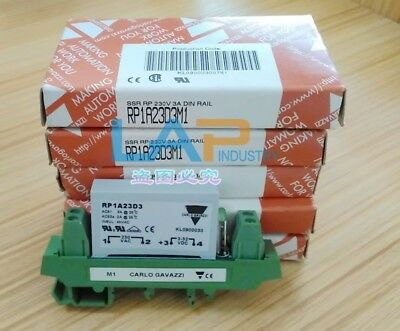 1PC NEW Carlo Gavazzi Solid State Relay RP1A23D3M1