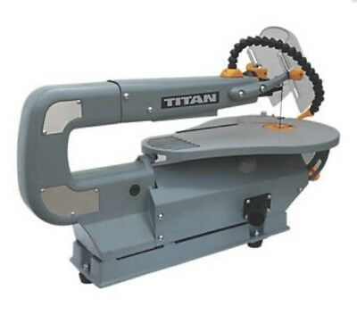 Scroll Saw Titan 410mm Variable Speed Adjustable Tilt Table Dust Blower Feature