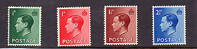 British 1936 King Edward vlll MNH set