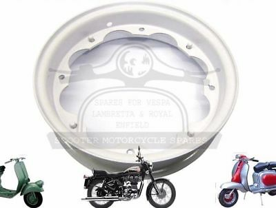 New Lambretta Primer Coated Ready To Paint Wheel Rim Unit Gp Li Tv Sx  @aud