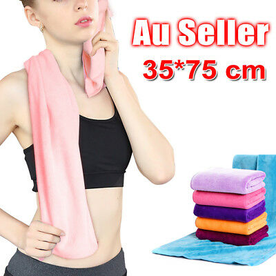 Sport Gym Towel Absorbent Microfibre Micro Fiber Sport Travel - Quick Drying