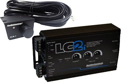 AudioControl LC2i + ACR1 Remote - 2 Channel Line-Output Converter with AccuBASS