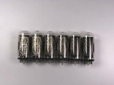 IN-18 IN18 Nixie tubes Lot of 6 pcs NOS